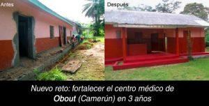 Nuevo reto: Fortalecer el centro médico de Obout