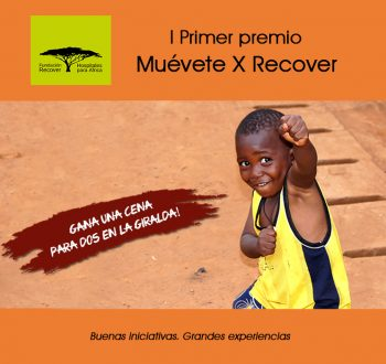 """Convocatoria I Premio """"Muévete X Recover"""""""