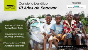 Concierto benéfico: 10 años de Recover