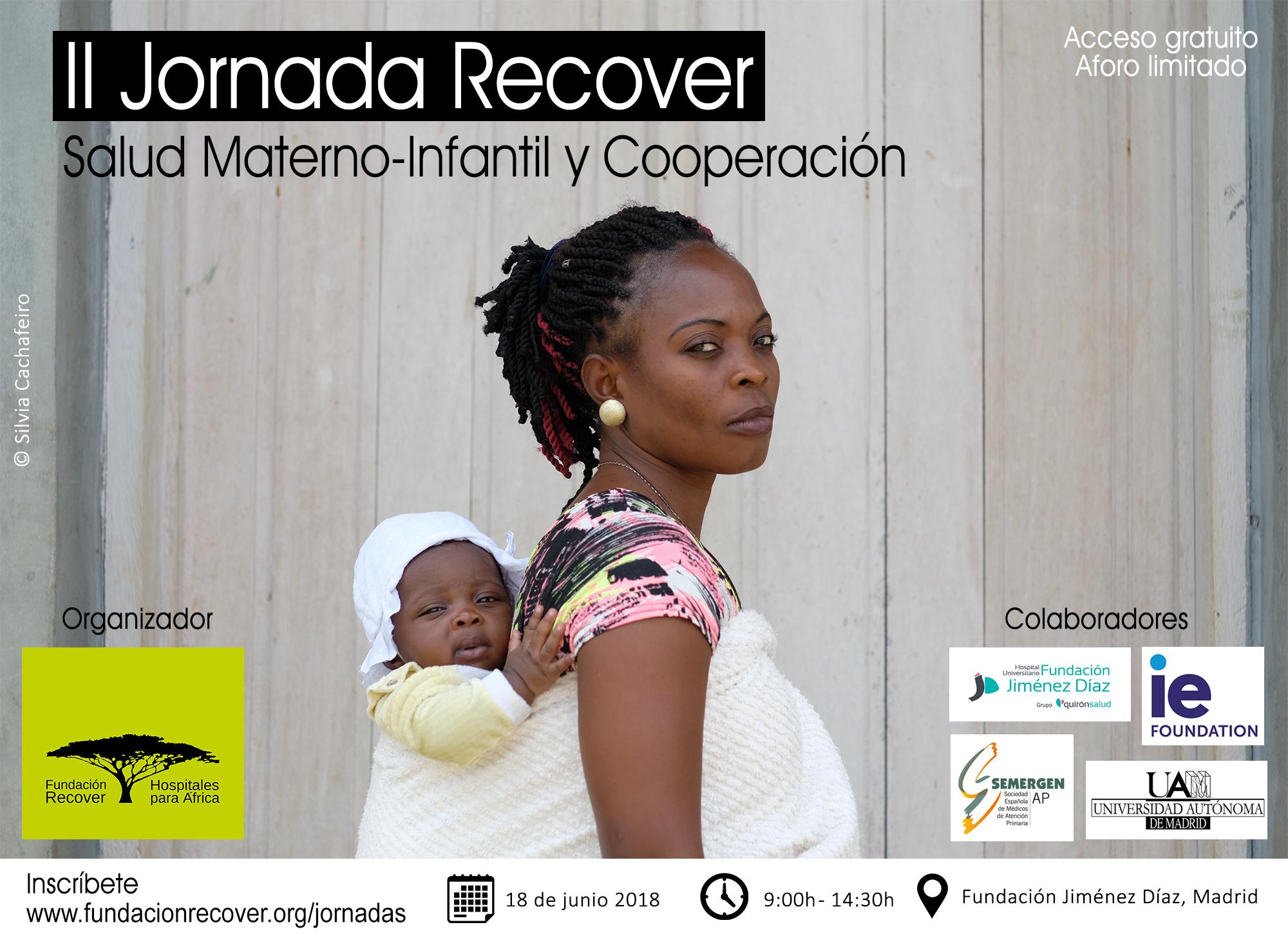 Cartel II Jornada Recover: Salud Materno-Infantil y Cooperación