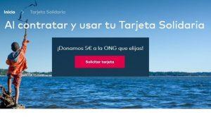 Openbank nos donará 5€ si te haces con su Tarjeta Solidaria