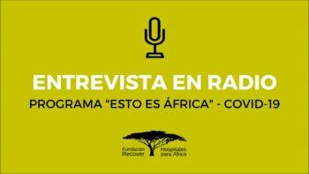 Entrevista en Esto es África de Radio María