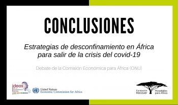 Estrategias de desconfinamiento en África