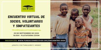 Encuentro virtual de socios, voluntarios y simpatizantes