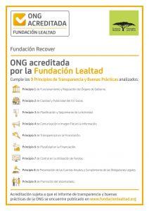 """Renovamos nuestro sello """"ONG Acreditada"""" de Fundación Lealtad"""