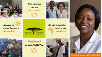 Ayúdanos a formar profesionales sanitarios en África