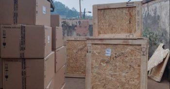 Dos toneladas de medicamentos ya en Camerún