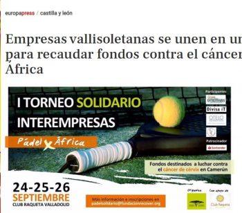 I Torneo de Pádel en Valladolid | Diversos medios